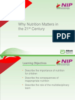 01-NIP Revised-Why Nutrition       Matters in the 21st Century-OK