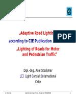 6 Adaptive road lighting 2008-05