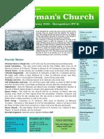 st germans newsletter - 16 feb 2020