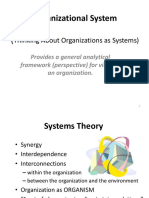 Overview of Organization Structure