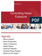 Controlling Noise Exposure -Toolbox Talk