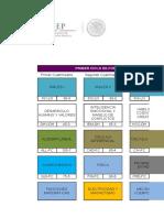 Mapa Cuatrimestarl IR PREREQUISITOS