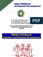 K1 - Perkembangan dari struktur, fungsi organ, psikomotor, kognitif dan emosi pada masa sekolah