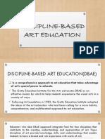 Discipline Based-Art Education