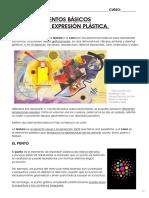 TEMA 7_ ELEMENTOS BÁSICOS DE LA EXPRESIÓN PLÁSTICA.