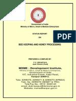 Status Report on Bee keeping & Honey Processing 2019-2020.pdf