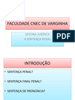 OFICINA SENTENÇA PENAL