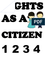 RIGHTS AS A CITIZEN