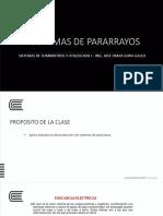 SEMANA 08 01 - PARARRAYOS