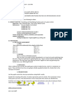 lesson plan in Math2 Fraction