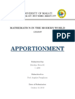 Apportionment