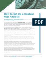 Contently Gap Analysis Worksheet