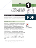 Introducing AUTOCAD 2017