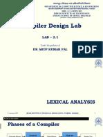Lab 2.1 - Lexical Analysis