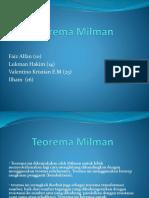 Teorema Milman