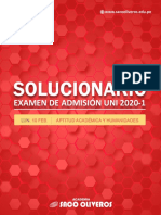 Saco Oliveros - Aptitud Académica y Humanidades