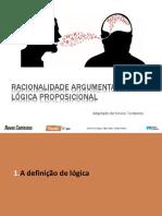 Racionalidade argumentativa + logica proposicional (até tabelas de verdade)_10ºano.pptx