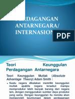 Perdagangan Internasional-Antarnegara