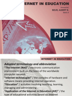 USE OF THE INTERNET IN EDUCATION.pptx