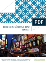 aula de revisão enem - leitura de gêneros textuais