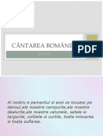 Cantarea Romaniei D.D..pptx