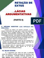 -APOSTILA- Aula 26 - Falácias Argumentativas II