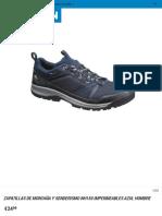 Zapatillas de montaña y senderismo NH150 impermeables azul hombre Quechua | Decathlon.pdf