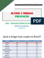 DDS ÁLCOOL DROGAS