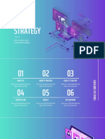 Isometric Gradient Social Media Strategy by Slidesgo