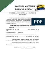 ASOSIACION DE MOTOTAXIS