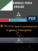 8 VITAMINAS PARA CRECER