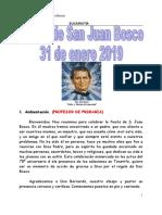 Eucaristía DON BOSCO 2019 PARROQUIA CANDELARIA 2019