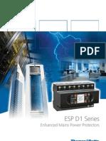 ESP D1Series Mains Power Protectors