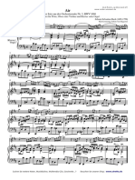 Bach - AIR - Aria Bwv 1068 - On The G String (Arranged For Piano & Flute Solo).pdf