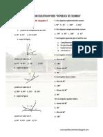 Problemas Elementales de Angulos I PC1 Ccesa007