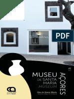 Panfleto Museu de Santa Maria, Açores