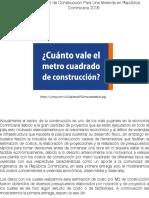 Costo del M2 de Construcción Para Una Vivienda en República Dominicana 2016 | Victor Leger Rafael