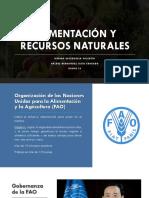 Alimentación y recursos naturales