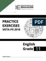 2018 Ejercicios Ingles 11