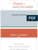 Chapter 1 - The Nature of Conflict_slides v2