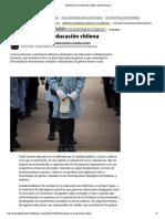 El sexismo en la educación chilena  El Desconcierto