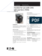Ethernet Module for Use with C441 Motor Insight and S611 RVSS (1)