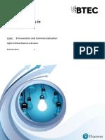 Unit 8 innovation and commercilaization
