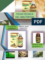 FICHA TECNICA DEL MIELTERTOS