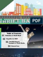 thrift banks finale.pptx