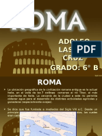ROMA ADOLFO 6°B.ppt