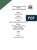PRACTICA CALIBRACION MALEZAS