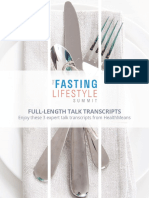 Fasting Life Style