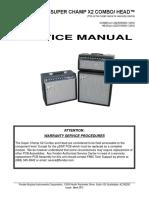 Super Champ X2 Service Manual