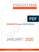 Insights on India Jan2020 editorial
